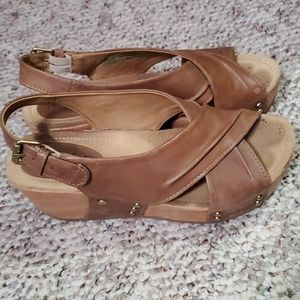 Bussola women's platform sandals